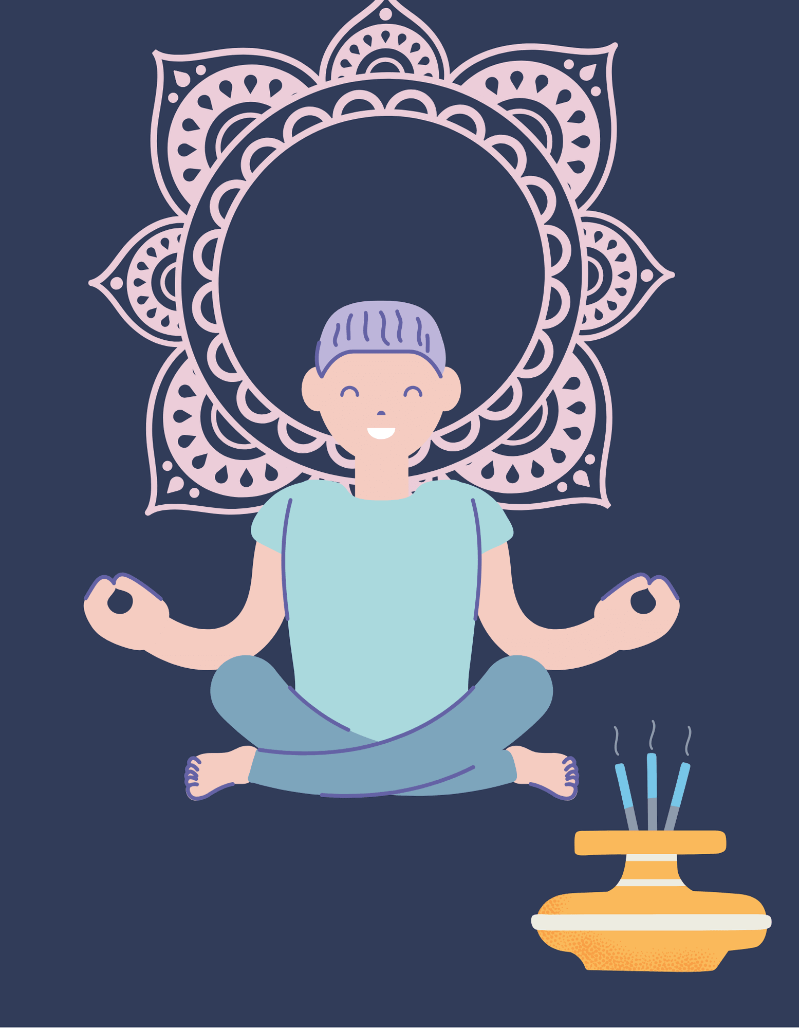 what is meditation in hindi