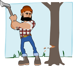 the wood cutter